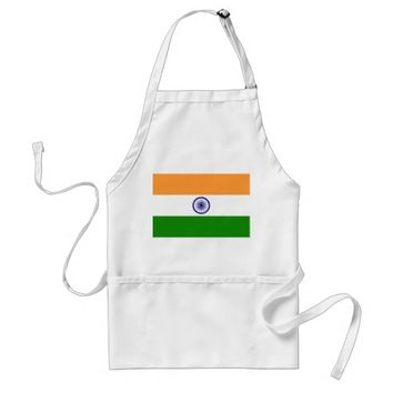 Apron with Flag of India