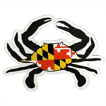 Maryland Flag Crab / Magnet