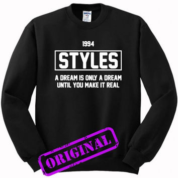 Harry Styles quote for sweater black, sweatshirt black unisex adult