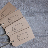 Rustic Handmade To and From Christmas Gift Tags