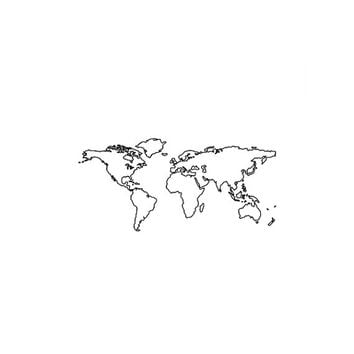 Set of 2 World Map temporary tattoo Pattern Tattoo Temporary Tattoo wrist ankle body sticker fake tattoo