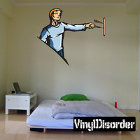 Billiard Wall Decal - Vinyl Sticker - Car Sticker - Die Cut Sticker - CDSCOLOR059