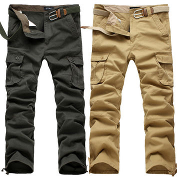 Mens Comfortable Cargo Pants