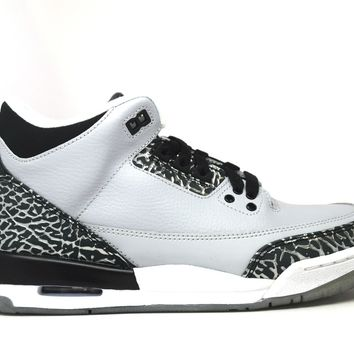 KUYOU Air Jordan 3 Retro Wolf Grey BG GS