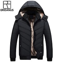 New Winter Jacket Fashion Casual Loose Coat Warm Clothing Men Coat Winter Man Clothes
