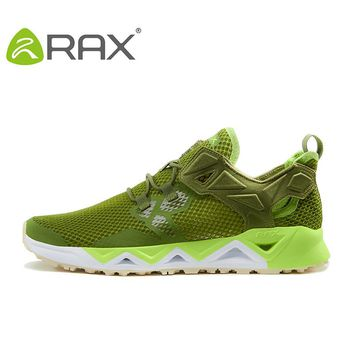 RAX 2017 New Men Summer Hiking Shoes Breathable Upstream Shoes Trekking Aqua Shoes Outdoor Fishing Camping Sneaker