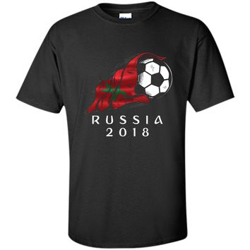 Russia World Soccer 2018 Morocco Football shirt jersey
