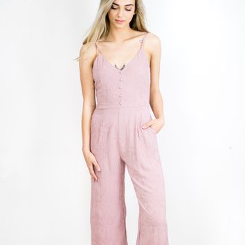 Rosy Pink Jumpsuit