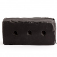 KOFTA | lamb leather 'brick' clutch