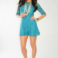 Sweet Southern Belle Romper: Cornflower Blue | Hope's