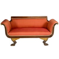 Important Duncan Phyfe Settee, c. 1816