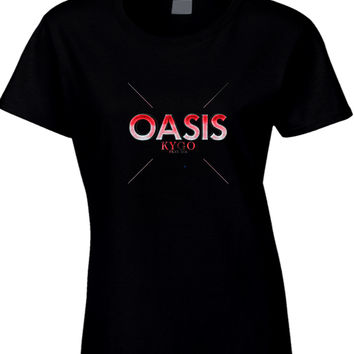 Kygo Oasis Feat Sia Womens T Shirt