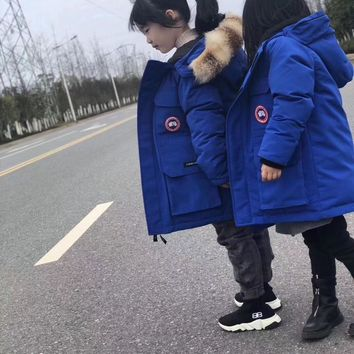 Canada Goose Down jacket for children Kensington Parka Coat