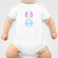 Custom One Piece Baby Body Suit - Funky Catsterz Kitten Revenge
