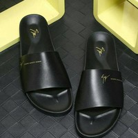 DCCK Giuseppe Zanotti Men's Leisure Shoes, Slippers, Fashion Leisure Leather