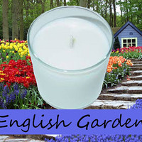 English Garden Scented Candle in Tumbler 13 oz
