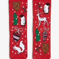 Monki | Socks | Christmas socks