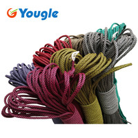 YOUGLE 31 colors Paracord 550 Parachute Cord Lanyard Rope Mil Spec Type III 7 Strand 100FT Climbing Camping survival equipment