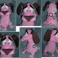 Lita Mitchell's Courage the Cowardly Dog Plush