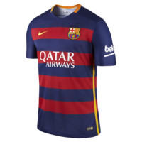 Nike 2015/16 FC Barcelona Match Home Men's Soccer Jersey