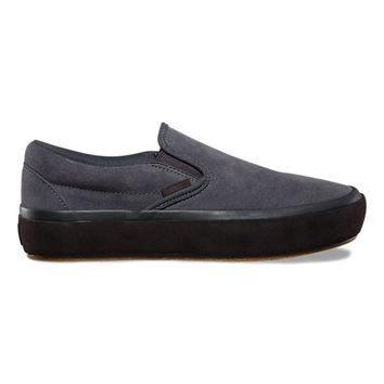 Suede Outsole Slip-On Platform | Shop At Vans