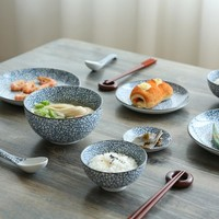 Japanese Ceramic Bone China Dinner Set
