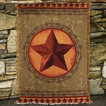 Throw Blanket - Western Star