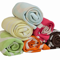 Organic Combed Cotton Crib Blankets (Various Colors)