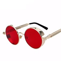 Round Metal Sunglasses Steampunk