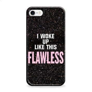 BEYONCE I WAKE UP LIKE THIS GLITTER 2 iPhone 6 | iPhone 6S case