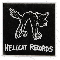 Hellcat Records Men's Logo Cloth Patch Black