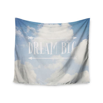 "Susannah Tucker ""Dream Big"" Clouds Wall Tapestry"