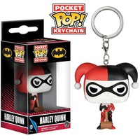 Funko Pop Pocket Harley Quinn Keychain