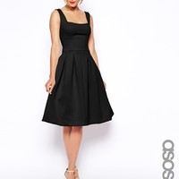 ASOS TALL Debutante Full Midi Dress