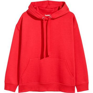 H&M+ Sweat à capuche - Rouge - | H&M FR