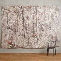 Tree Whisper Mural by Anthropologie in Brown Motif Size: One Size Wall Decor