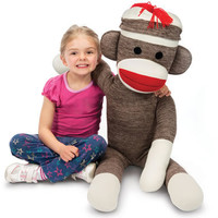 The Giant Sock Monkey - Hammacher Schlemmer