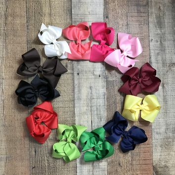 "RTS 5"" Grosgrain Hairbows"
