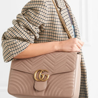 Gucci - GG Marmont large quilted leather shoulder bag