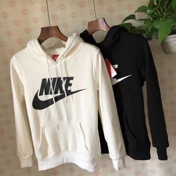 ESBON Nike Classic Fashion Hooded Top Pullover Sweater Sweatshirt Hoodie