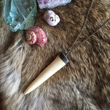 Antler Point Necklace