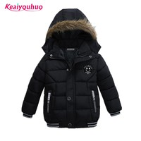 Baby Boys Coat 2018 Winter Jacket For Boys Fashion Hoodies Children Coat Boys clothes Jackets Warm Outerwear for kids clothing