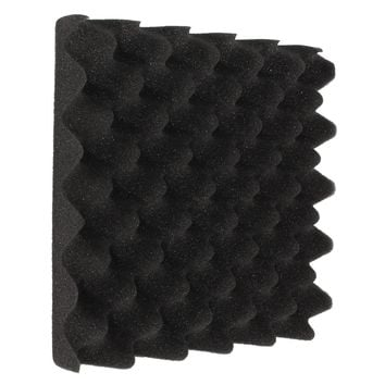 25X25X5CM Soundproofing Foam Egg Crate Studio Acoustic Foam Soundproofing Treatment Egg Profile Tile Wedge Hot Sale