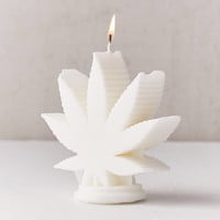 WIK Studios Leaf Shaped Candle | Urban Outfitters