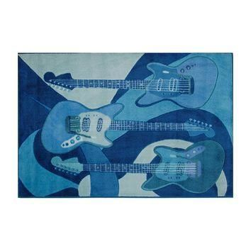 Fun Rugs Supreme The Blues Rug