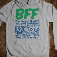 BFF - The One You Leave Your BF to Go Shopping With - Connected Universe