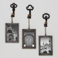 Sophie Vintage Key Frame, Set of 3 - World Market