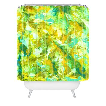 Rosie Brown In the Web Shower Curtain