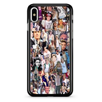 Niall Horan Collage iPhone X Case