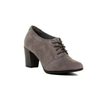 Clarks Araya Araya Hale Ankle Suede Lace Up Grey Boots, Size 12M